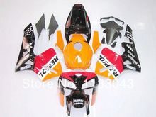 OEM_quality REPSOL fairings for CBR600 F5 HONDA CBR600RR 05 06 F5 CBR 600 RR 2005 2006 red orange black white injection fairing