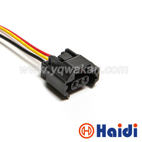 Free shipping 1set yazaki 3pin auto waterproof Nissan air conditioning pressure switch wire harness plug connector 7223-6536-30