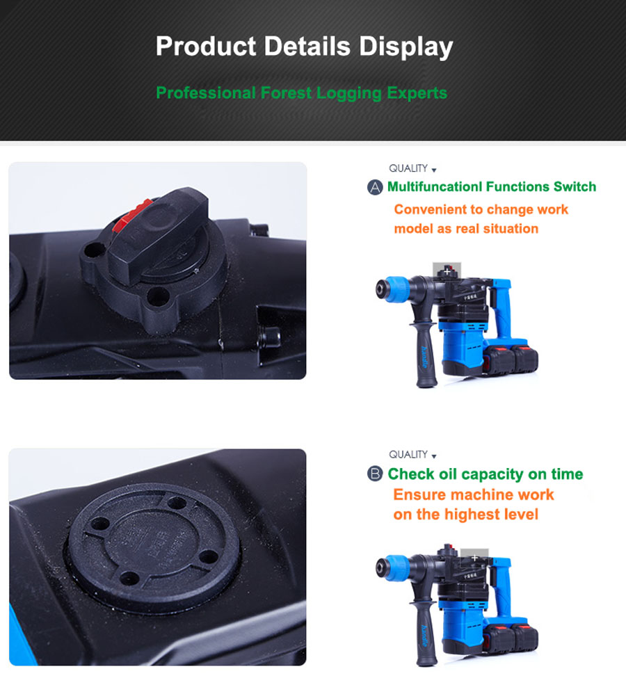 HTB1wfOzagoQMeJjy1Xaq6ASsFXaO - 5000 10000mAh Heavy Wall Hammer Cordless Drill Rechargeable Lithium Battery Multifunctional Electric Hammer Impact Drill