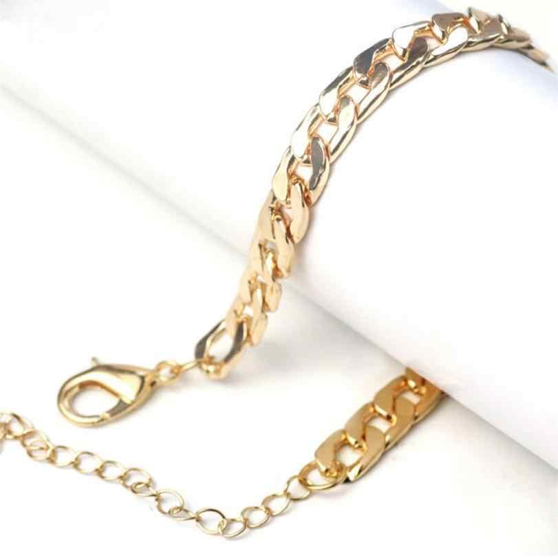 79fdb3addbed Нержавеющая сталь Для мужчин Для женщин плоский браслет Титан Сталь ручной  ...
