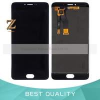 1pcs For Mei Zu Meilan M3 Note LCD Screen Replacement Black White Color For Meilan M3Note