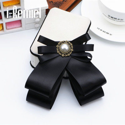 2017 Brooches For Broche Zinc Alloy New Hot Bowknot Brooch And Shirt Bow Tie Col