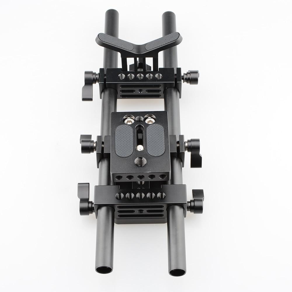 CAMVATE Pro DSLR Shoulder Mount Support Rig Kit For Universal Use (2)