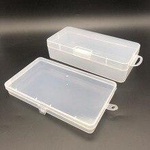 Пластиковый SMD SMT винтовой ящик для хранения электронных компонентов DIY ящик для инструментов водонепроницаемый прозрачный Органайзер держатель для ремонта телефона