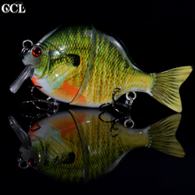 2019 Good Fishing Lures Crank Quality Professional Bait 8.9cm 32g Jointed Swimbait Real Fish Colors