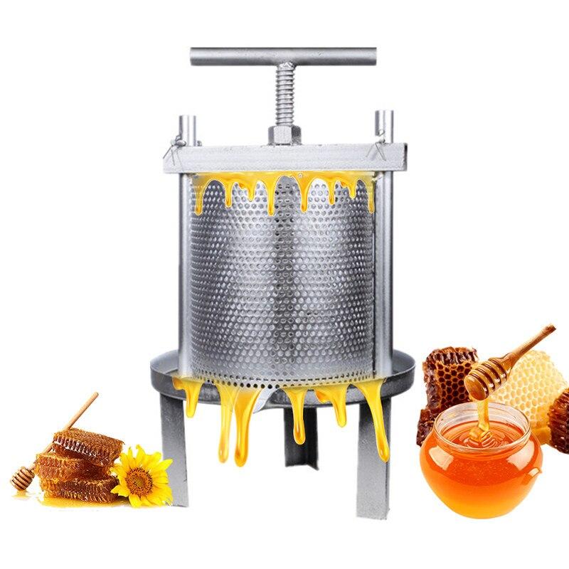 Медовая машина уборочное оборудование из нержавеющей стали пресс мед расческа и вино Пчеловодство Инструмент Соковыжималка включает в себ