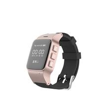 Schritt Tracker smart uhr für Alte Mann GPS Monitor Gold smartwatch mit SOS Funktion Anti Verloren Monitor