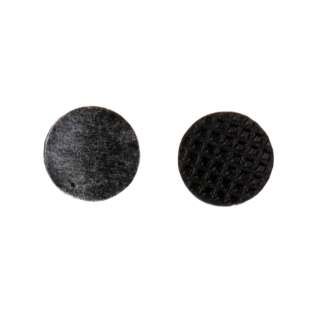 100 Pieces Furniture Protector Anti-Skid Self Adhesive Gridding Rubber Pad Black