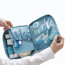 Korean Brand Design large-capacity multi-function travel cosmetic bag waterproof Makeup Make Up Wash Tool Organizer Storage bags
