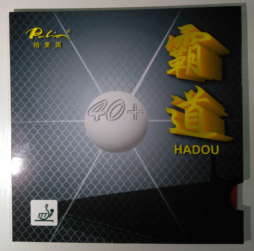 Original palio 40+ hadou table tennis rubber blue sponge palio rubber for table tennis racket ping pong paddles racquet sport