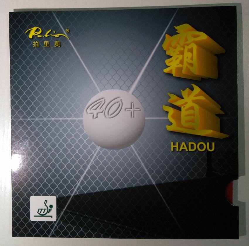 Original Palio 40+ Hadou Table Tennis Rubber Blue Sponge Palio Rubber For Table Tennis Racket Ping Pong Paddles Racquet Sport