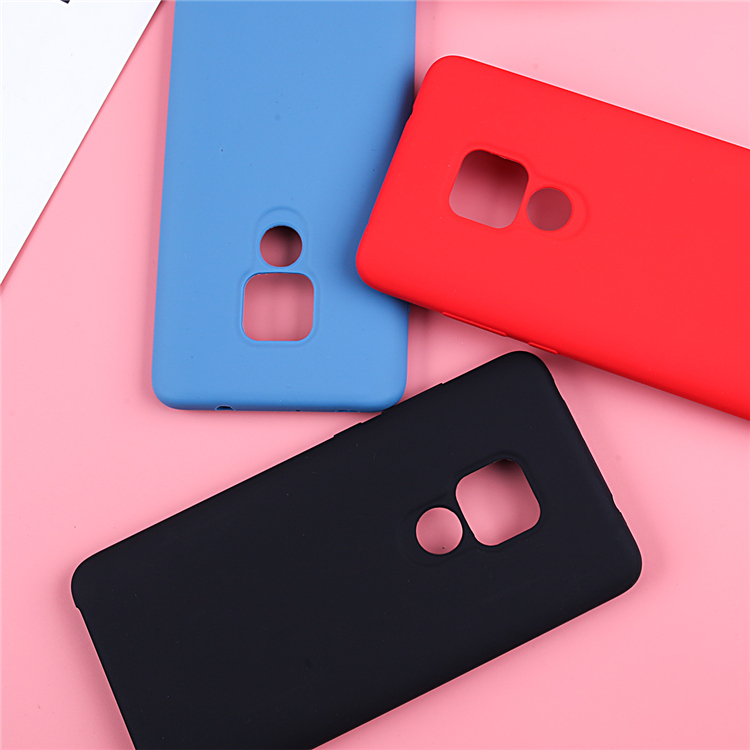 Image 3 - Original Liquid Silicone Case For Huawei P20 Lite Cover Plain Clear Bumper For Huawei Mate 20 Lite P20 Pro P30 Pro Capa Coques-in Fitted Cases from Cellphones & Telecommunications