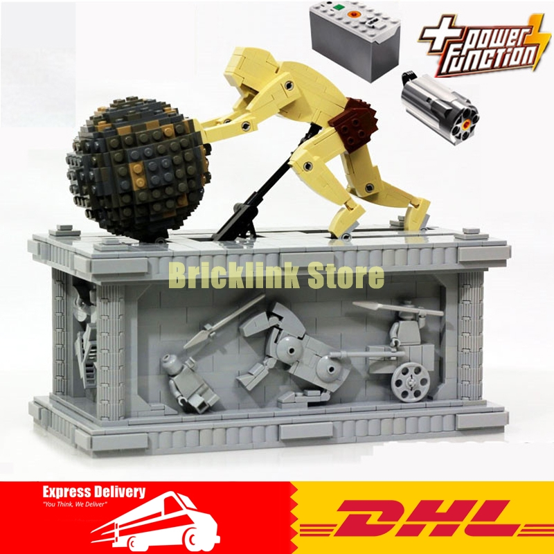 NEW Lepin 23017 1462Pcs Movie Series MOC Le Mythe de Sisyphe Building Blocks Bricks to Holiday Toys Gift new lp2k series contactor lp2k06015 lp2k06015md lp2 k06015md 220v dc