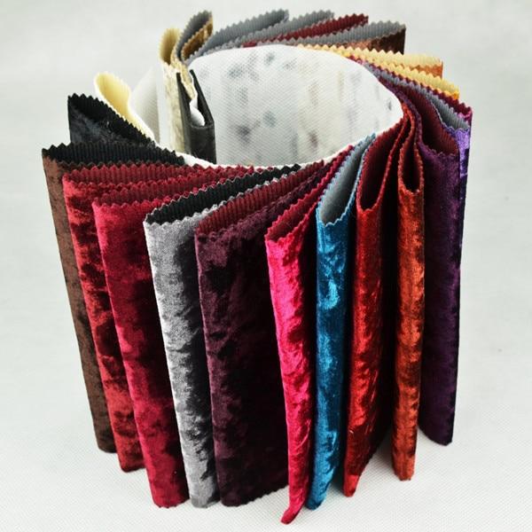 Buy color samples of velvet fabric for Velvet material for curtains