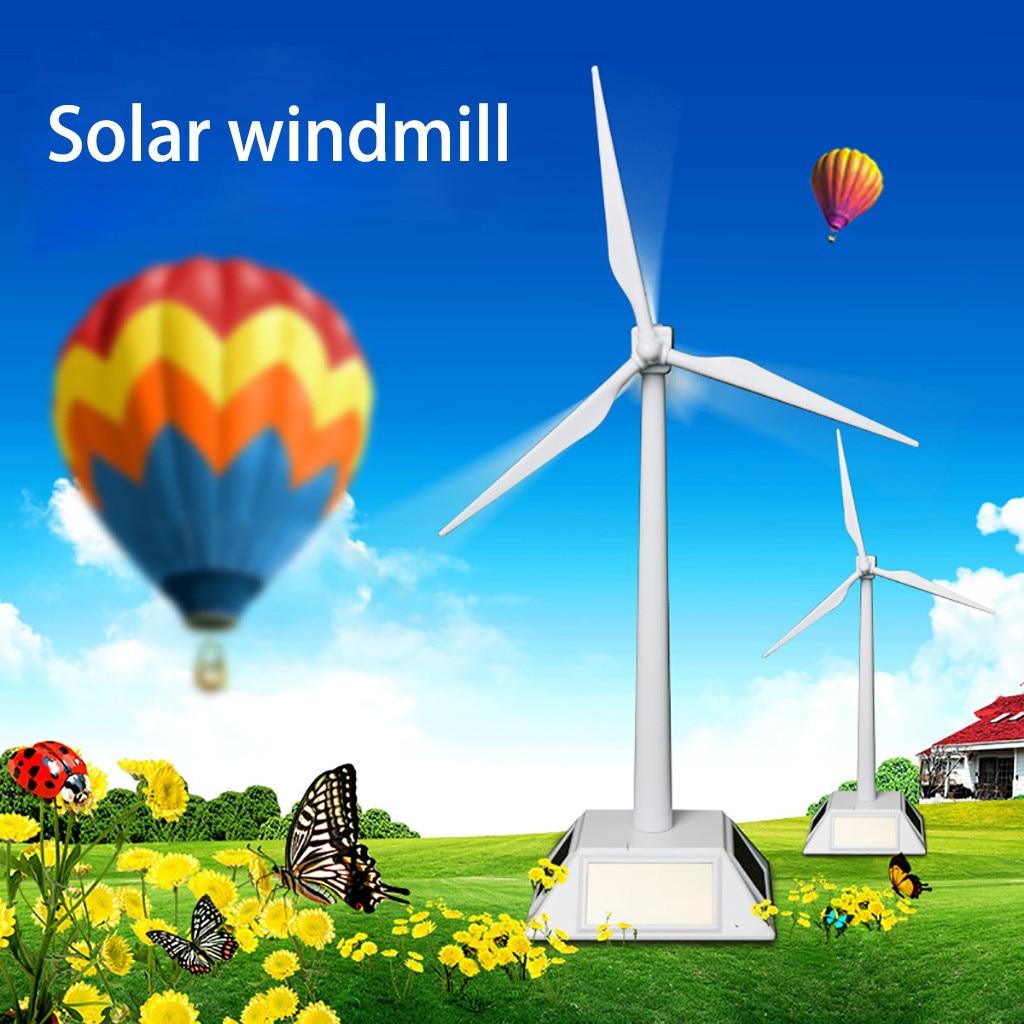 Kids Toys For Boys Girls Solar Toy Mini Kit Robotica Solar Windmill Rotating Fan Model Puzzle Diy Assembled Environmental Toys