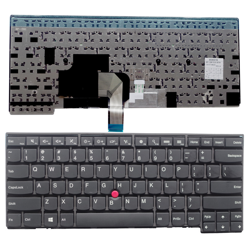 NEW Keyboard for LENOVO for IBM T440S T440P T440 E431 T431S E440 L440 US laptop keyboard no Backlight цена