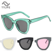 TTLIFE Cat Eye Sunglasses Women Fashion Male Glasses UV Protection Luxury Vintage Sun Female Oculos de Sol