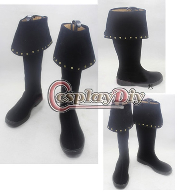 ФОТО Pirates of the Caribbean Cosplay Boots Pirate Shoes Adult Men's Halloween Cosplay Boots Custom Made