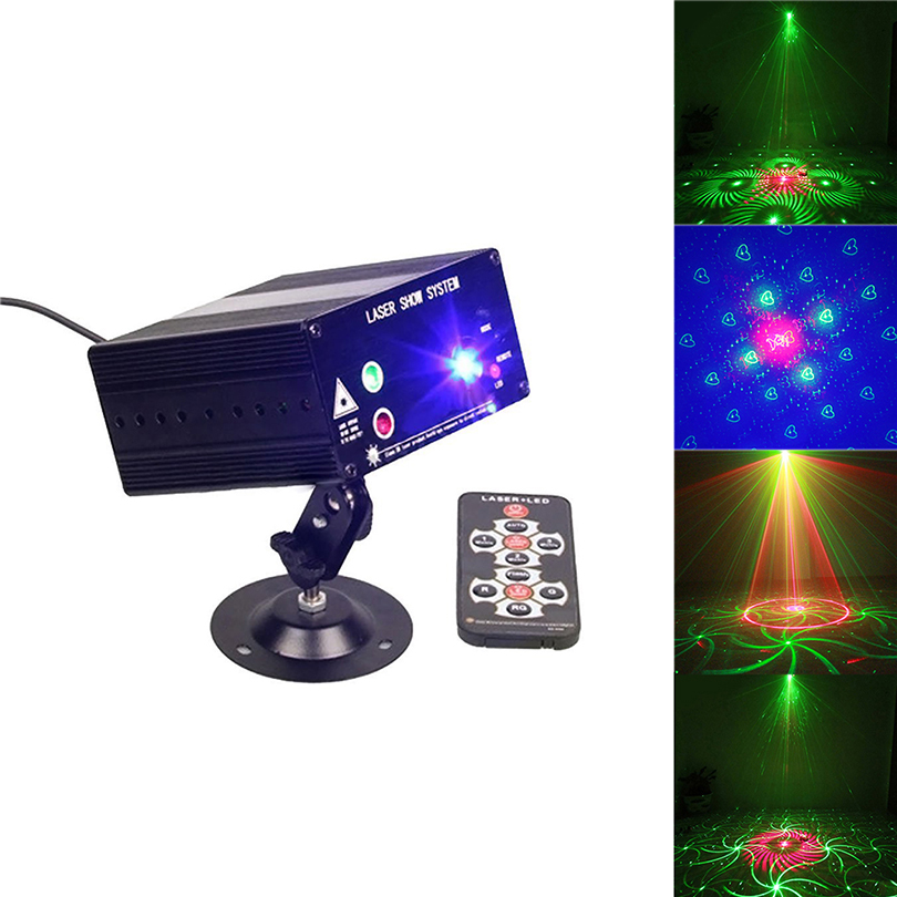 48Pattern Laser Projector effect Stage Lights Star Projector Showers RGB Twinkle Party KTV DJ Dance Disco Light With IR Remote подвесной светильник эконом свет 8135 8135 3sn wt