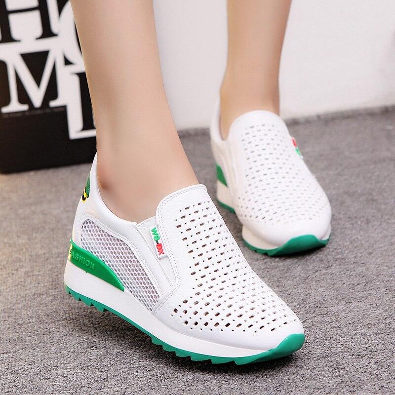 Mode vert CasualNoir Toile Printemps Plates Coréenne Clair rouge Respirant Nouvelle Chaussures gyYb6f7