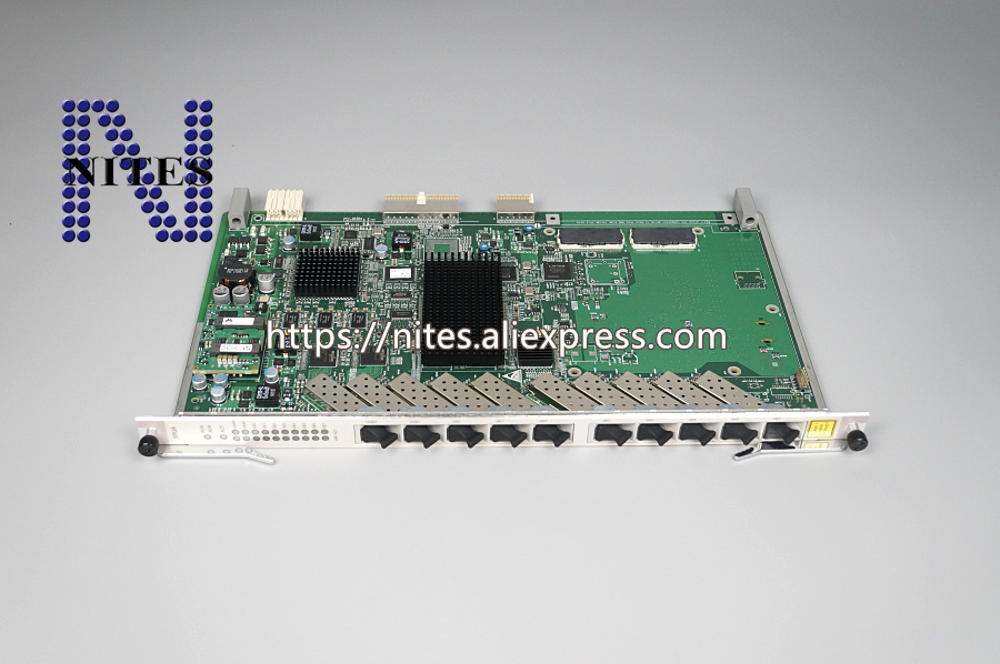 Original Hua wei 10G uplink board SPUA for MA5680T MA5683 OLT,8*GE+2*10GE