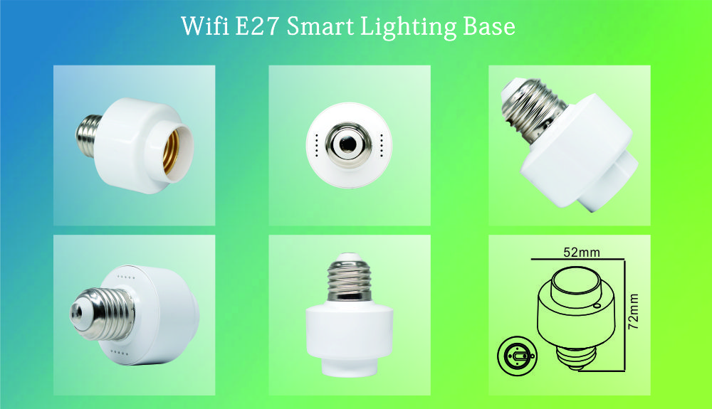 TUYA WIFI BULB HOLDER-08