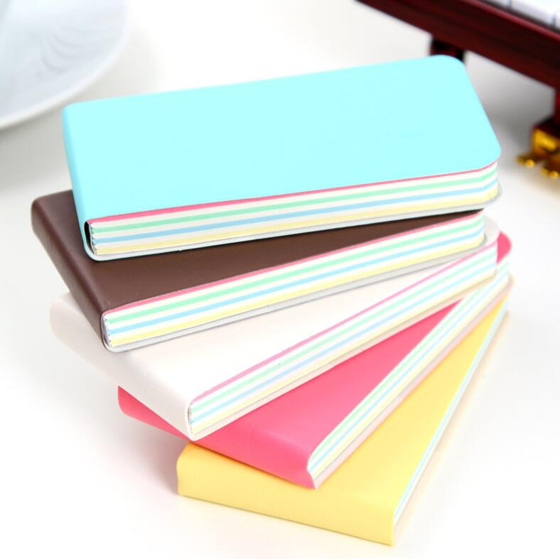 Kawaii Stationery Portable Post It Sticky Notes Retro Thicken Mini Notebook 3 PCS/Lot Coloring Sheets Account Memo Notepad