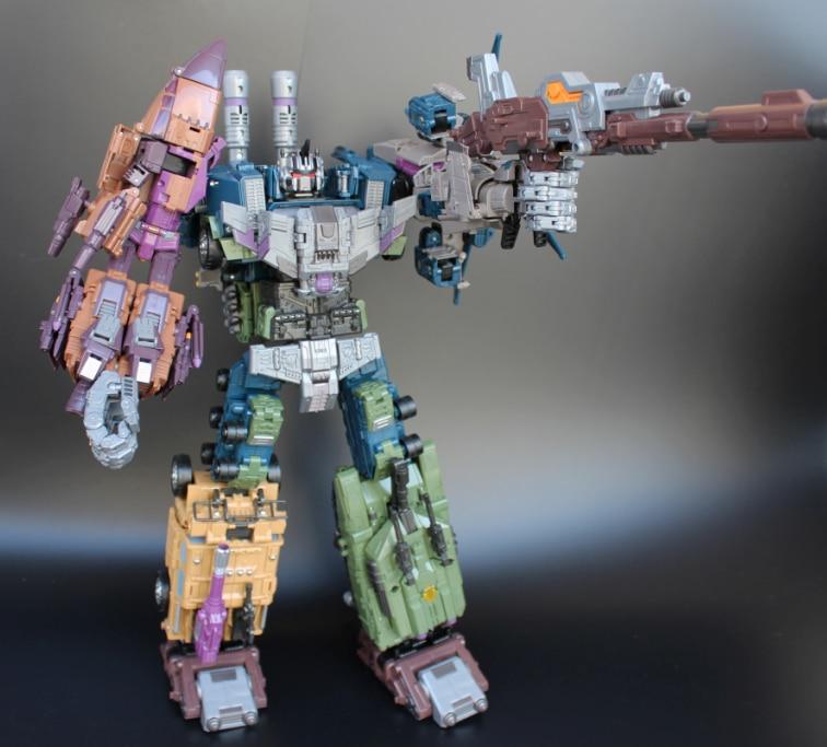 [Show.Z Store] Jinbao Oversized Bruticus - Original Box (Fast Shipping) Transformation WB Warbotron fast shipping 6 in 1 jinbao transformation upgrade edition jinbao mmc predaking feral rex figure toy