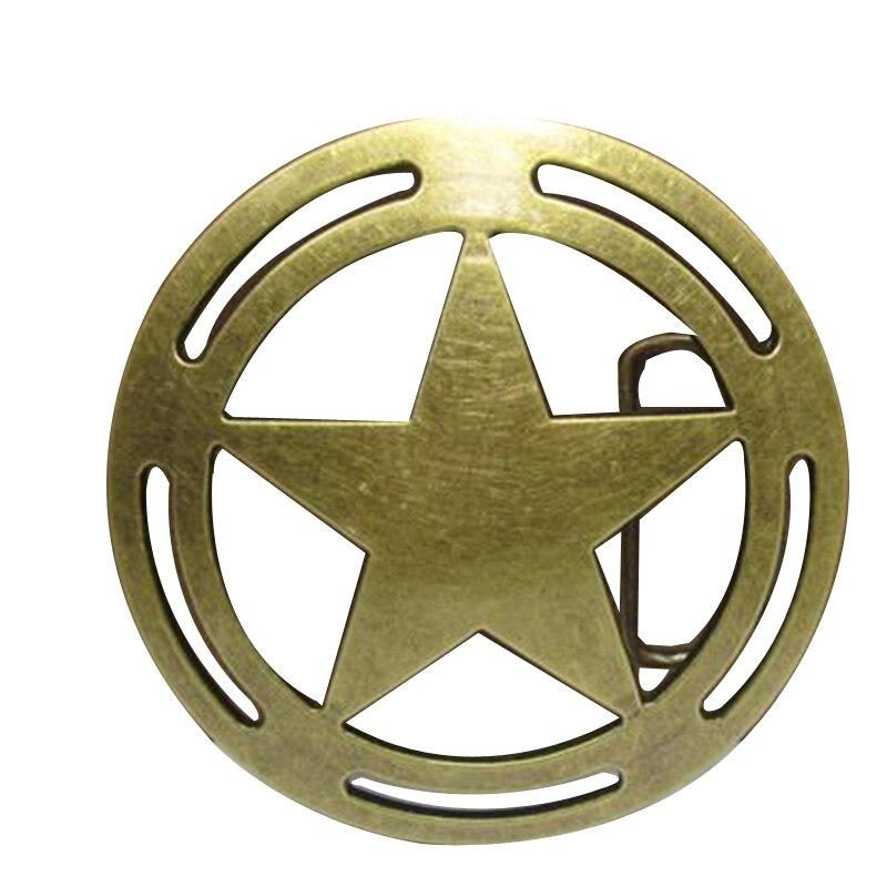 Couleur Bronze étoile à cinq branches boucles hommes designer ceinture  boucles en métal pour Vêtements, jeans, femmes, filles vêtements, Kid  vêtements e19f69f3fd2