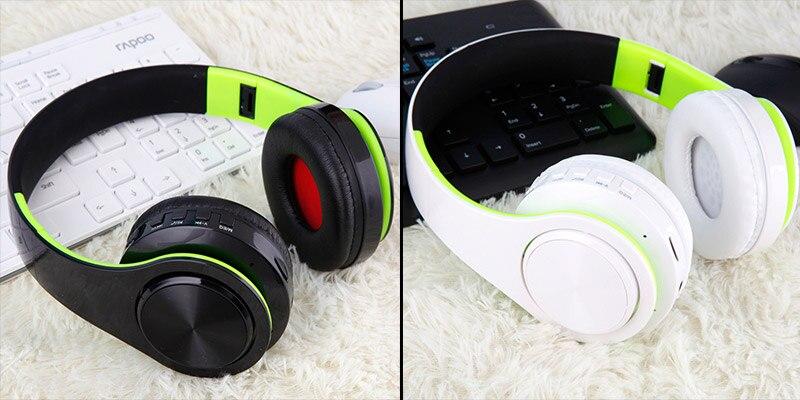 Casque sans fil Bluetooth B7 casque pliable 14