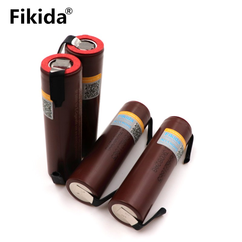 4PCS Original for LG HG2 18650 3000mAh electronic cigarette rechargeable battery high-discharge 30A high current + DIY nicke