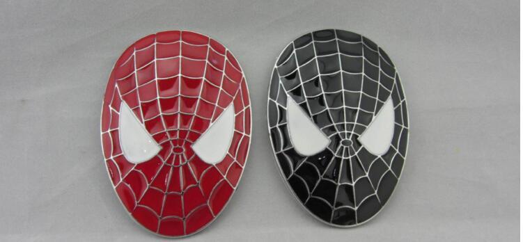 Superman Car Accessories: 100pcs DHL Chrome Metal Spiderman Superman Car Body