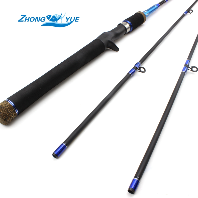 2017 New Arrival High Quality 2 Tips M/MH Power 2.1M Carbon Casting Spinning Lure Fishing Rod Fishing Tackle sesknight new double tips 2 1 meters m mh 4 18g lure fishing rod 98