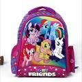 Высокое Качество 2017 дети мультфильм my little pony школьные сумки девушки прекрасный рюкзак школьный для детей mochila эсколар infantil