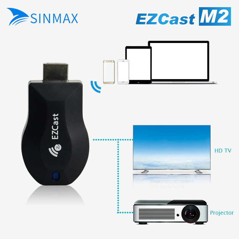 Ezcast M2 Chromecast 2 Ezcast AnyCast Wifi TV Dongle Receiver 1080p Airmirror DLNA Airplay Miracast HDMI android TV Stick HDTV