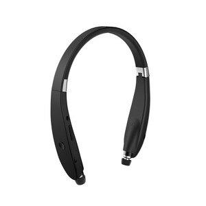 Image 1 - Kablosuz Bluetooth gerdanlık SX 991 V5.0 spor Stereo SX991 kulaklık kulaklık için MIC ile bas IPhone LG Android Fone De Ouvido