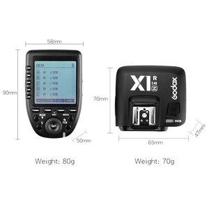 Image 3 - Godox xpro n i ttl 2.4グラムワイヤレス高速同期 × システムトリガー + godox X1R N受信機ニコンカメラ