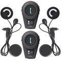 FM + Soft Earphone! FreedConn Intercom Motorcycle Wireless Waterproof Bluetooth Motorcycle Helmet Intercom Interphone