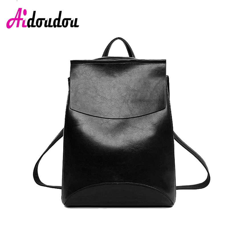 School Bags for Teenagers Girls Women Backpack High Quality PU Leather Backpacks Female School Shoulder Bag Bagpack M1303WM children school bag minecraft cartoon backpack pupils printing school bags hot game backpacks for boys and girls mochila escolar