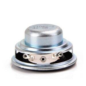 Image 4 - SOTAMIA 2 adet 40MM Mini taşınabilir ses tam aralıklı hoparlörler 16 çekirdekli 4 Ohm 5 W kauçuk yan DIY ses bluetooth hoparlör ev sineması