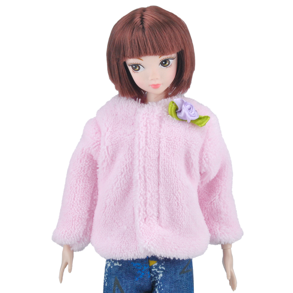 Fashion Doll Одежда Серебро Quaste Платье Юбка + Крышка Сумки Для Кукол Barbie S