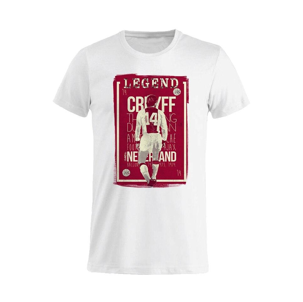 T Shirt Unisex Legend Johan Cruijff Nederland the best Funny T Shirt Men Summer Short Sleeves Cotton T-Shirt top tee