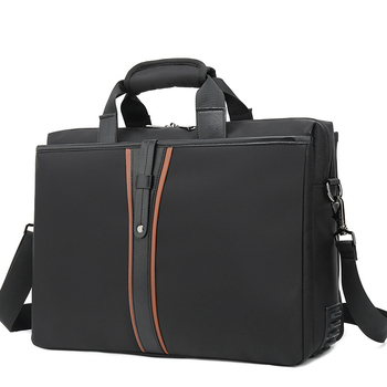 Men Business Laptop Crossbody Shoulder Bag 15 15.6 inches Waterproof Male PC Computer Messenger Bag Carrying Case