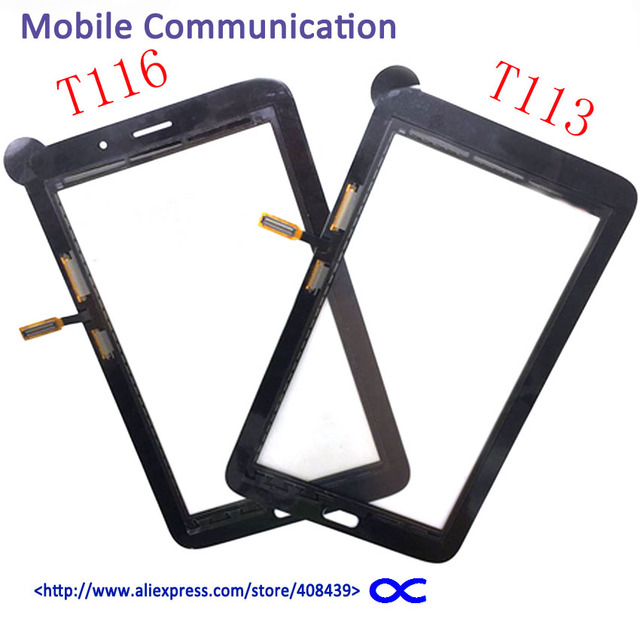 10pcs T116 T113 Touch Screen for Samsung Galaxy Tab 3 Lite SM-T113 T116 Touch Panel Digitizer