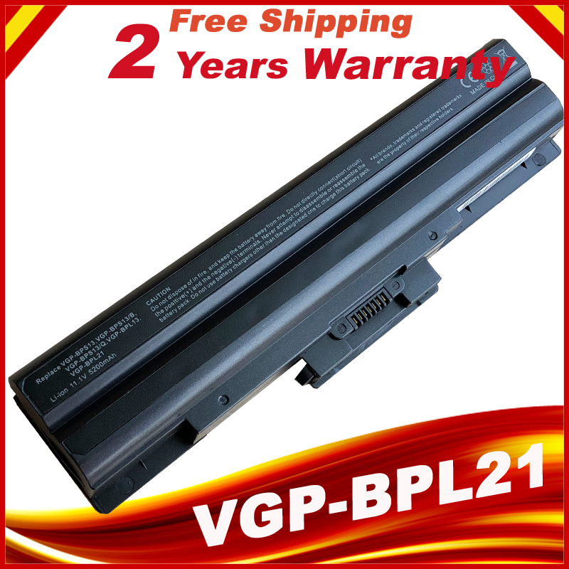 Laptop battery For SONY Vaio BPS13/B VGP BPS13/Q VGP-BPS13B/B BPS21B/B BPS21 GN-AW VGN-CS VGN-FW VGN-NS VGN-NW new notebook laptop keyboard for sony vgn bz vgn bz11xn series sp layout