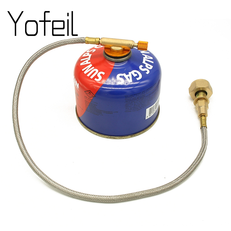 Outdoor Camping Picnic Stove Head Flat Gas Tank  Long Gas Tank  Converter  Refill AdapterOutdoor Camping Picnic Stove Head Flat Gas Tank  Long Gas Tank  Converter  Refill Adapter