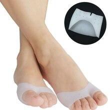 Silicone Gel Foot Toe Separator Straightener Thumb Hallux Valgus Corrector Orthopaedic Foot Protector Bunion Adjuster Feet Care недорого