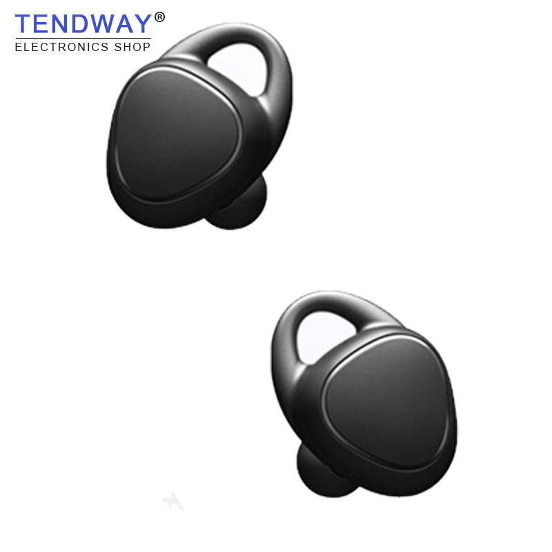 Tendway TWS Business bluetooth wireless earphones Invisible Stereo Sport Noise Cancelling headset with Charge Box for Iphone 7 mini business wireless bluetooth headset noise cancelling earphones sport wearing earphone with mic stereo for smartphones