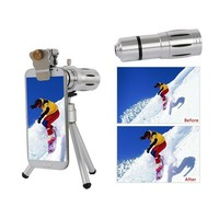 Camera Lenses kit 12x Zoom Telephoto Lentes For iPhone 5s 6 6s 7 Plus Xiaomi Huawei Fisheye Wide Angle Macro lens Telescope