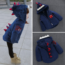 Baby winter wadded jacket outerwear 0 1 2 3 male female child cotton padded jacket baby